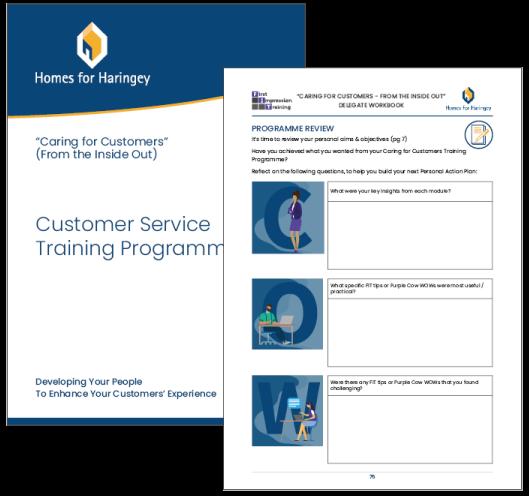 FIT – Customer Service Course, Workbook & Worksheets